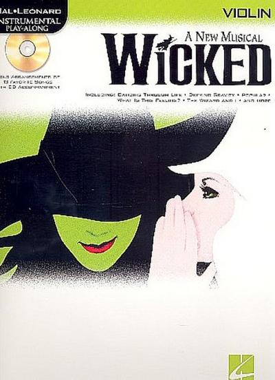 Wicked (+CD) : for violin