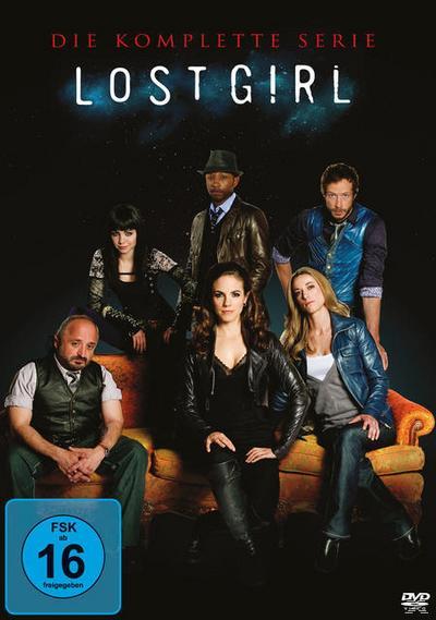 Lost Girl - Die komplette Serie DVD-Box