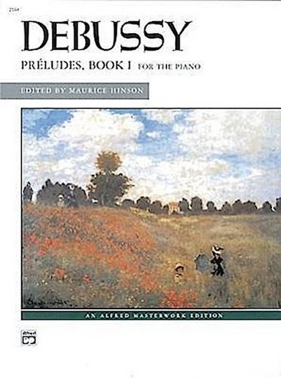 Debussy -- Preludes, Bk 1