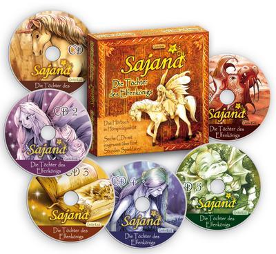 Sajana 01 - die Töchter des Elfenkönigs