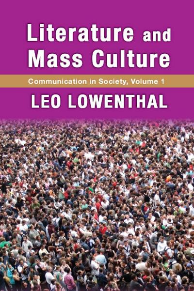 Literature and Mass Culture