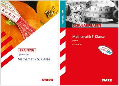 STARK Mathematik Gymnasium 5. Klasse Bayern - Training + Schulaufgaben