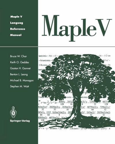 Maple V Language Reference Manual