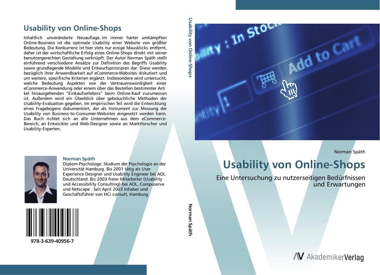 Usability von Online-Shops Norman Späth