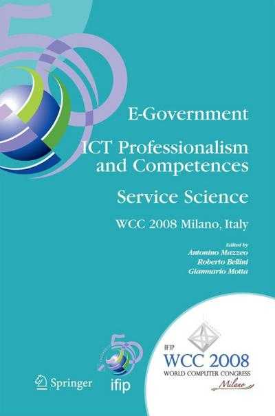 E-Government - ICT Professionalism and Competences Service Science