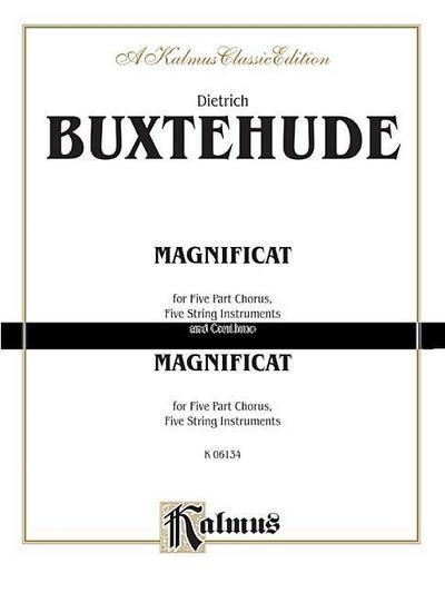 Magnificat Anima Mea: Full Score, Saatb (Latin Language Edition), Full Score