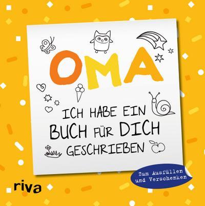 Oma, ich habe ein Buch für dich geschrieben - Version für Kinder