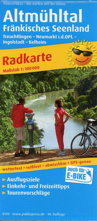 Altmühltal - Fränkisches Seenland: Radkarte mit Ausflugszielen, Einkehr- & Freizeittipps, wetterfest, reissfest, abwischbar, GPS-genau. 1:100000 (Radkarte / RK) - PUBLICPRESS - Landkarte, Deutsch, , Radkarte mit Ausflugszielen, Einkehr- & Freizeittipps, wetterfest, reissfest, abwischbar, GPS-genau. 1:100000, Radkarte mit Ausflugszielen, Einkehr- & Freizeittipps, wetterfest, reissfest, abwischbar, GPS-genau. 1:100000