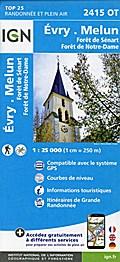 Evry - Melun 1 : 25 000