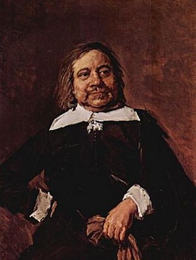 Frans Hals - Porträt eines Mannes mit Spitzkragen - 1.000 Teile (Puzzle)