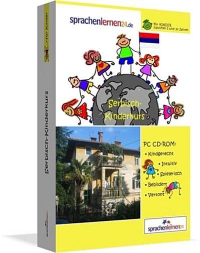 Serbisch-Kindersprachkurs von Sprachenlernen24: Kindgerecht bebildert und vertont für ein spielerisches Serbischlernen. Ab 5 Jahren. PC CD-ROM für Windows 10,8,7,Vista,XP / Linux / Mac OS X - Sprachenlernen24.De - CD-ROM, Deutsch, Sprachenlernen24, PC CD-ROM: Kindergerecht. Intuitiv. Spielerisch. Bebildert. Vertont, PC CD-ROM: Kindergerecht. Intuitiv. Spielerisch. Bebildert. Vertont