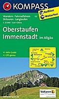 Oberstaufen, Immenstadt im Allgäu 1 : 25 000