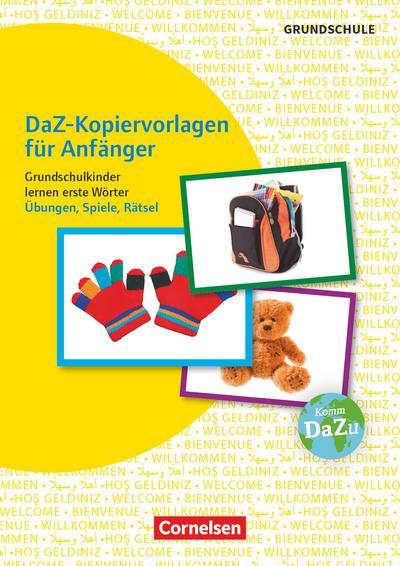 DaZ-Kopiervorlagen für Anfänger - Grundschulkinder lernen erste Wörter