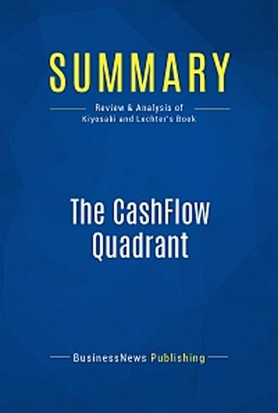 Summary: The CashFlow Quadrant
