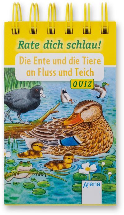 Die Ente und die Tiere an Fluss und Teich