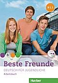 Beste Freunde B1. Paket Arbeitsbuch B1/1 und B1/2 mit Audio-CD