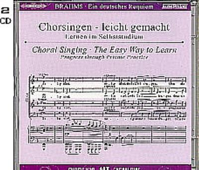 Ein Deutsches Requiem op.45, Chorstimme Sopran, 2 Audio-CDs - 123Noten - Musiknoten, Deutsch, Johannes Brahms, ,
