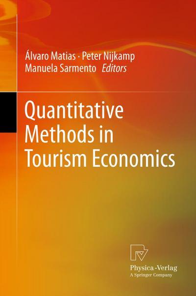 Quantitative Methods in Tourism Economics