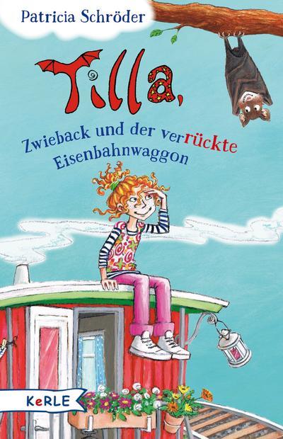 Tilla, Zwieback und der verrückte Eisenbahnwaggon; Ill. v. Skibbe, Edda; Deutsch; mit schw.-w. Illustrationen