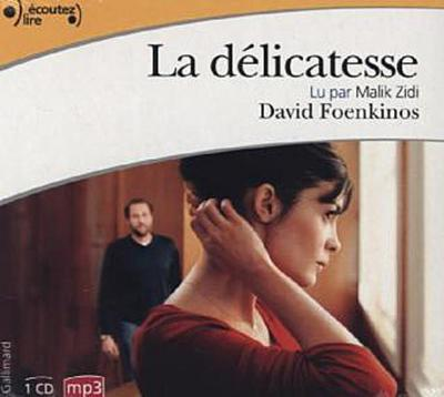 La délicatesse, 1 MP3-CD