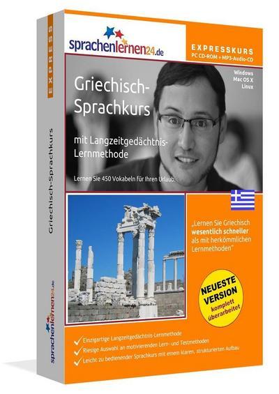 Sprachenlernen24.de Griechisch-Express-Sprachkurs. CD-ROM