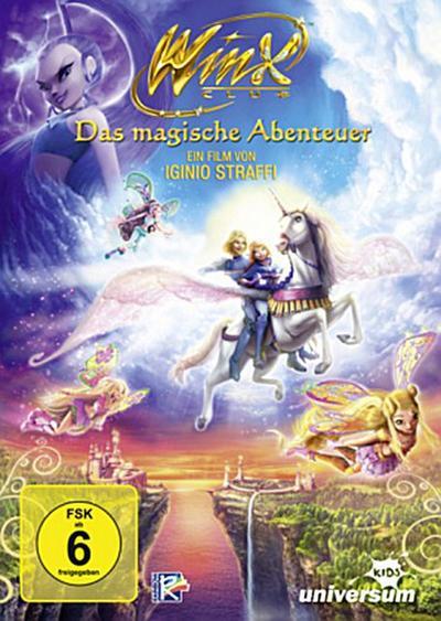 Winx Club - Das magische Abenteuer, 1 DVD