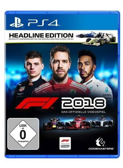 F1 2018 Headline Edition (PlayStation PS4)