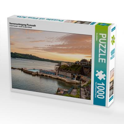 Sonnenuntergang Plymouth (Puzzle)