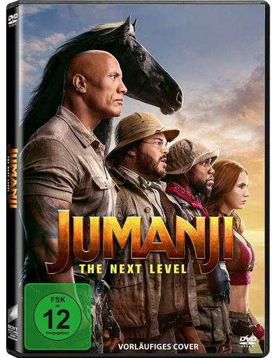 Jumanji : The Next Level, 1 DVD