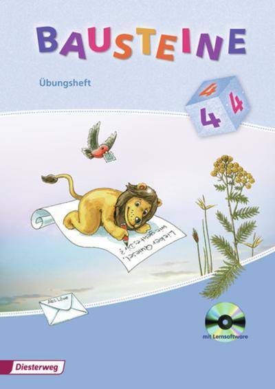 Bausteine Sprachbuch 4. Übungsheft 4 mit CD-ROM. Lateinische Terminologie 2008. Allgemeine Ausgabe und Ausgabe Baden-Württemberg