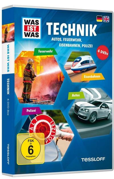 WAS IST WAS DVD-Box Technik