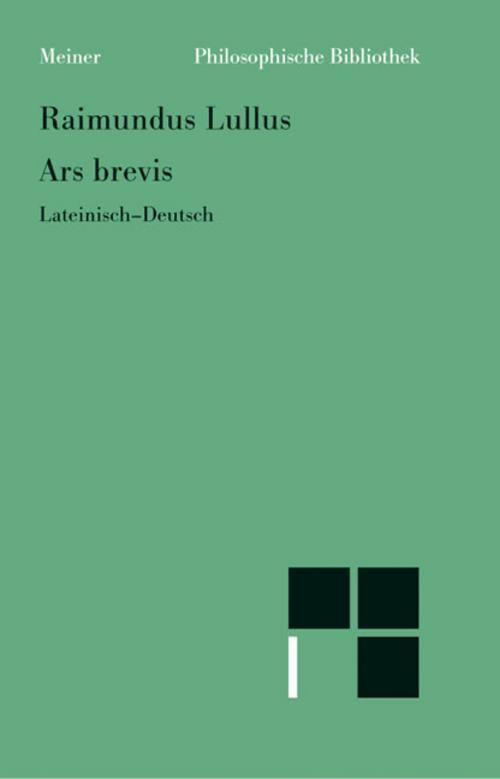 Ars brevis, Raimundus Lullus