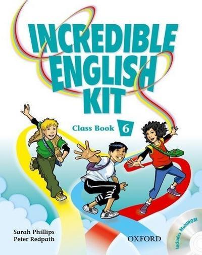 INCREDIBLE ENGLISH KIT 6 CB & CD-ROM PK