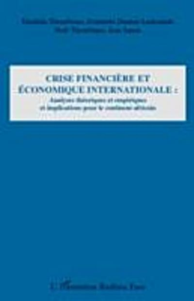 Crise financiere et economique internationale