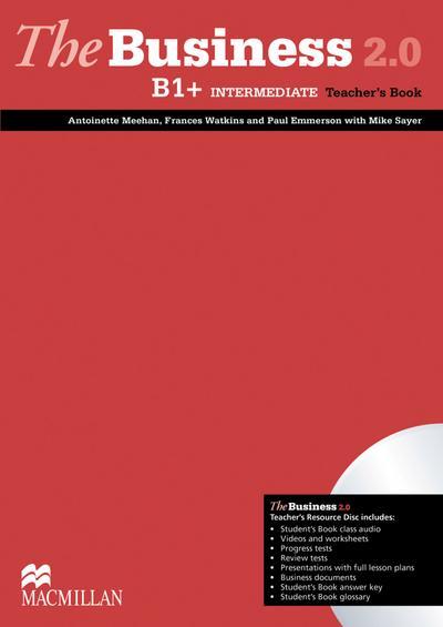 The Business 2.0. Intermediate. Teacher's Book with DVD-ROM