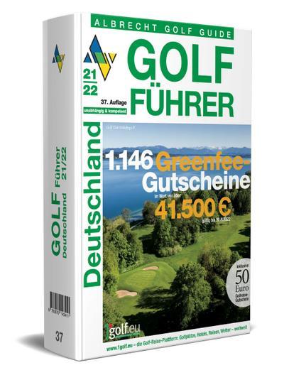 Albrecht Golf Führer Deutschland 21/22 inklusive Gutscheinbuch