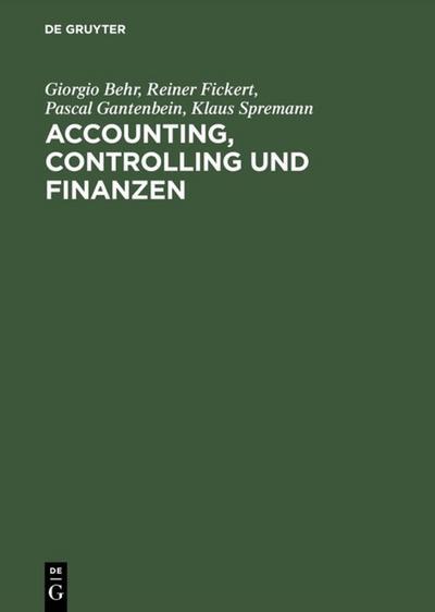 Accounting, Controlling und Finanzen
