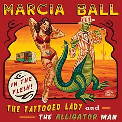 The Tattooed Lady And The Alligator