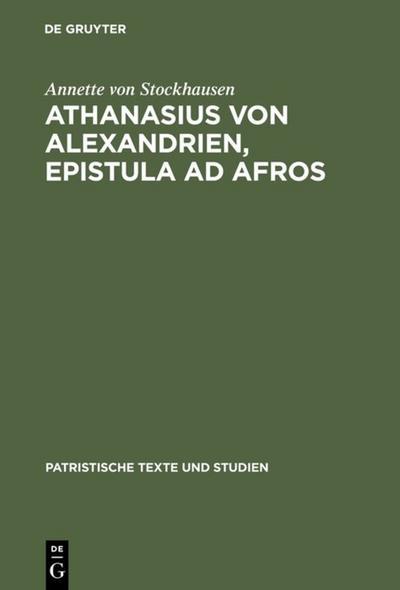 Athanasius von Alexandrien, Epistula ad Afros