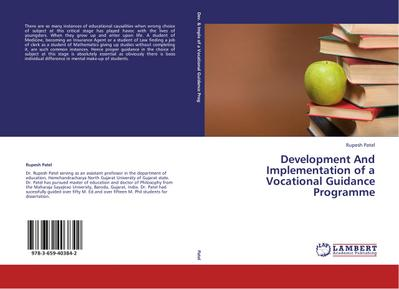 Development And Implementation of a Vocational Guidance Programme