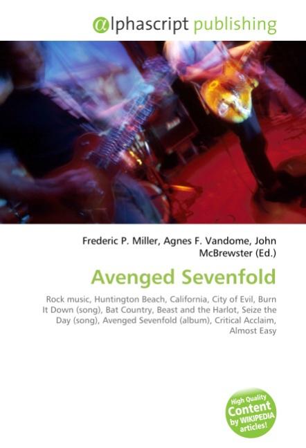 Avenged Sevenfold Frederic P. Miller