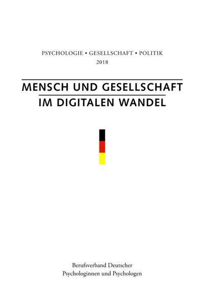 Mensch und Gesellschaft im digitalen Wandel