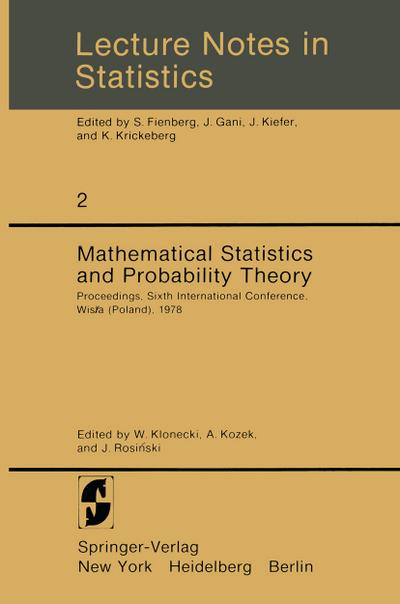 Mathematical Statistics and Probability Theory