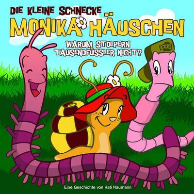 Die kleine Schnecke Monika Häuschen 01. Warum stolpern Tausendfüßler nicht?