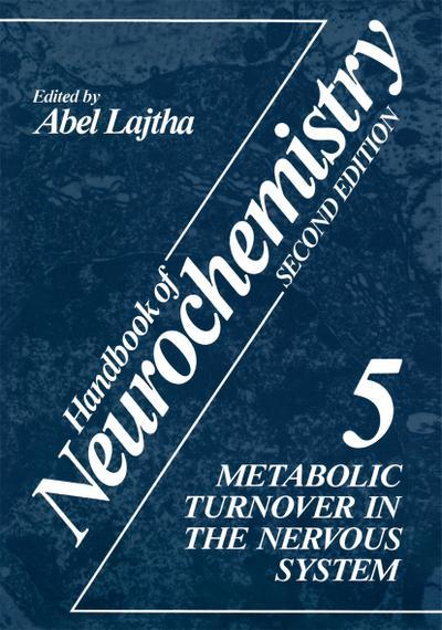 Handbook of Neurochemistry. Vol.5