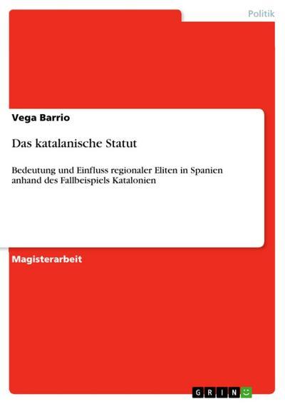 Das katalanische Statut