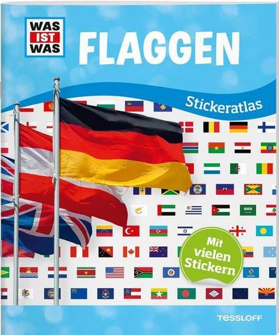 WAS IST WAS Stickeratlas Flaggen