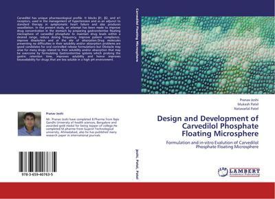 Design and Development of Carvedilol Phosphate Floating Microsphere