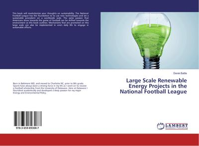 Large Scale Renewable Energy Projects in the National Football League
