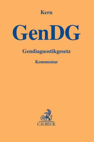 Gendiagnostikgesetz (GenDG), Kommentar